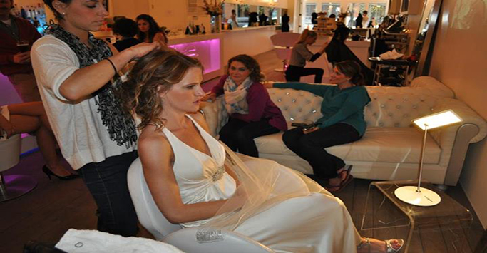 c16a2592f26e7cd86264712414e2ebb5 Bride Artistry Beauty Team Artist Doing Hair and Makeup for Bridal Photoshoot