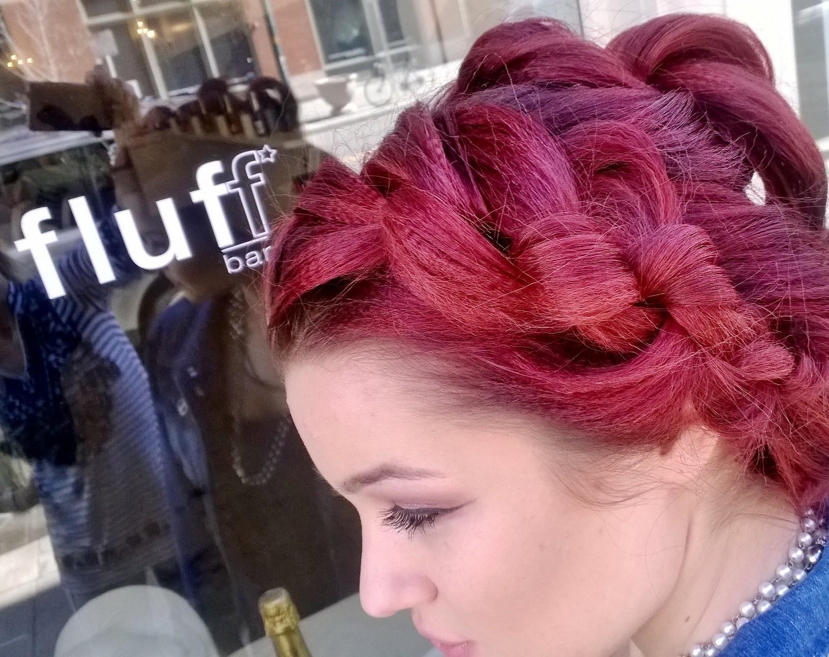 Hair at Fluff Bar- Denver and Colorado's #1 Bridal Beauty Team