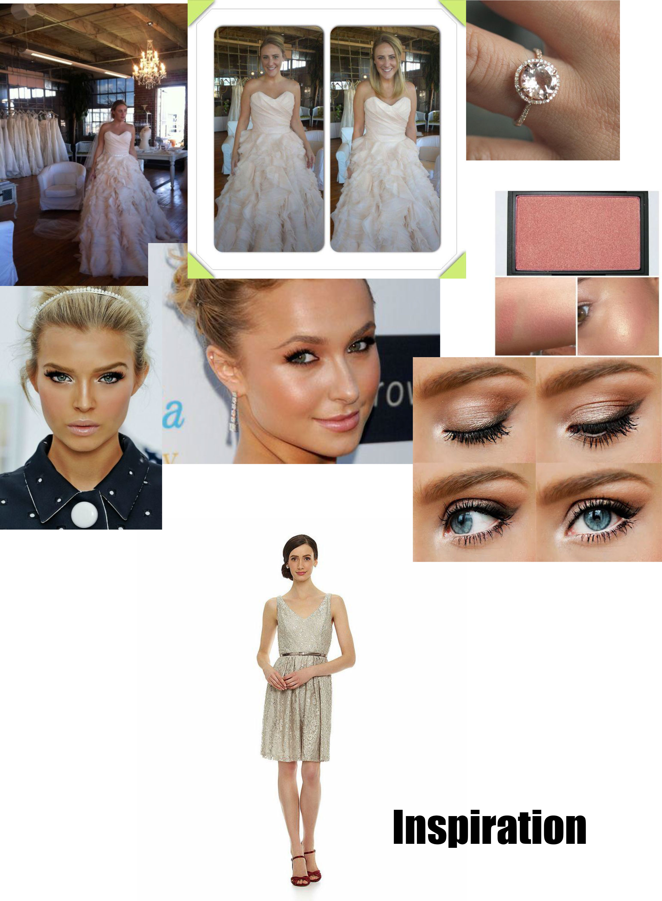 WeddingDayLookInspiration jpg Colorado Wedding and Bachelorette Beauty Services. Fluff Featuring Denvers Best Bridal UpDos and MakeUp