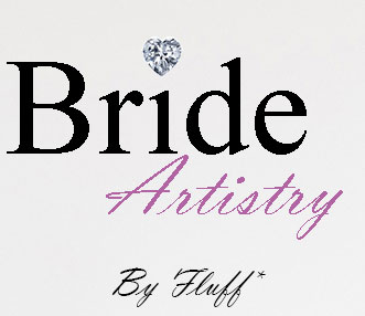 brideartistrybyfluff Bride Artistry Beauty Team Artist Doing Hair and Makeup for Bridal Photoshoot