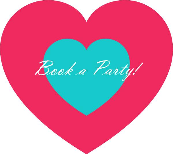 Book A Party Heart Fluff Blowdry Bar Make Up Studio